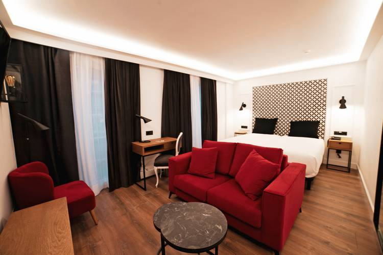Junior suite Hotel Boutique Colón Plaza Valladolid